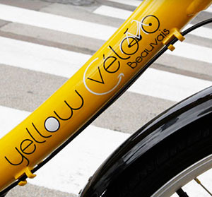 Yellow vélo