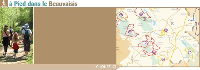 Sentiers pédestres balisés du Beauvaisis